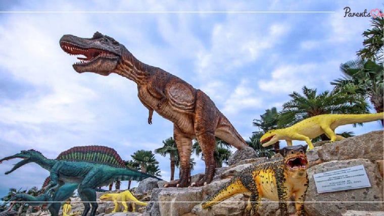 NEWS: ปีใหม่นี้เด็กดูไดโนเสาร์ฟรี! ที่สวนนงนุช พัทยา