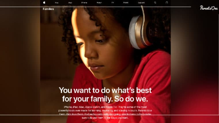 "NEWS: ""Families"" หมวดใหม่บนเว็บ Apple ช่วยให้พ่อแม่ควบคุมการใช้งานมือถือของลูกได้"