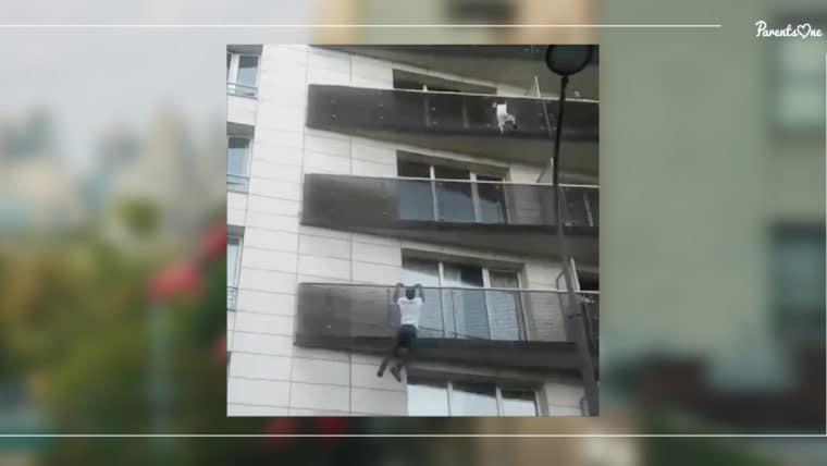 NEWS: หนุ่มสไปเดอร์แมนแห่งปารีส ปีนตึก 4 ชั้น ช่วยเด็กน้อยห้อยริมระเบียง