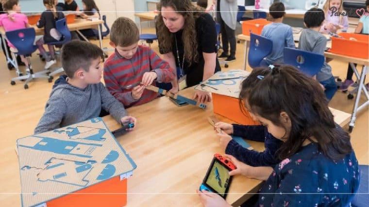 NEWS: สหรัฐใช้ Nintendo Labo เป็นสื่อการสอน ทำให้เด็กๆ สนุกไปกับการเรียน