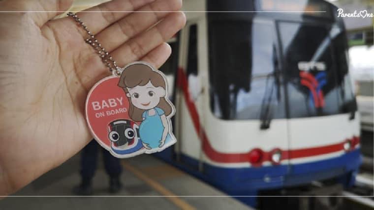 NEWS: BTS แจกเข็มกลัดคนท้องฟรี! รับได้ที่ห้องขายตั๋วบน BTS ทุกสถานี