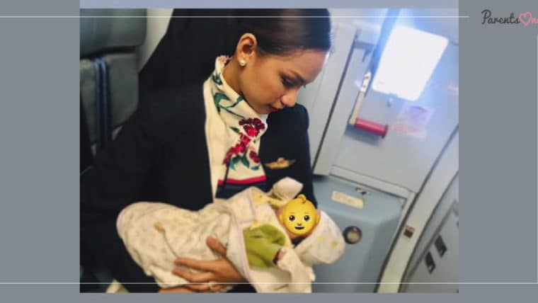 NEWS: แอร์ฯ ป้อนนมลูกผู้โดยสารจากเต้า เหตุนมผงที่แม่เด็กพกมาหมด