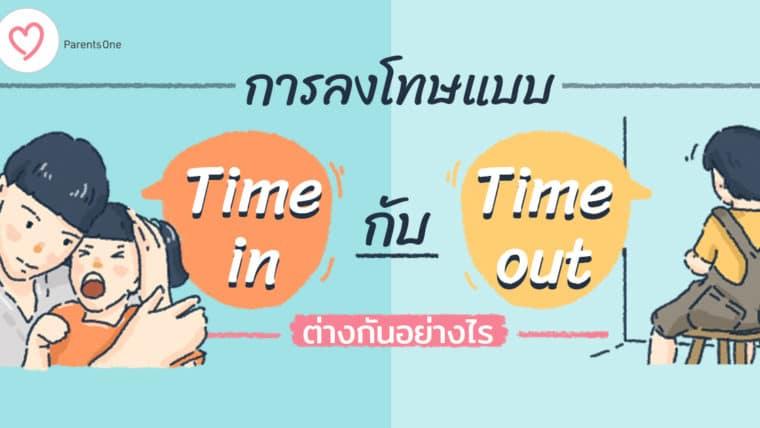 การลงโทษแบบ Time in และ Time out ต่างกันอย่างไร เลือกแบบไหนจึงเหมาะกับลูก