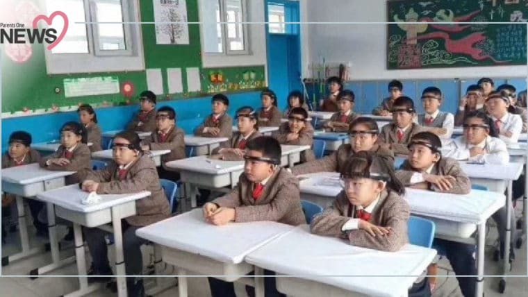 NEWS: สุดกดดัน! เด็กจีนถูกตรวจจับการตั้งใจเรียน ผ่านที่รัดศีรษะเวลาเรียนในห้อง