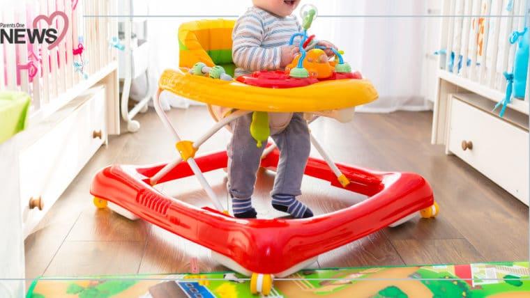 NEWS: พ่อแม่ต้องรู้ไว้! รถหัดเดินอันตราย ไม่ได้ช่วยให้ลูกเดินเร็วขึ้น