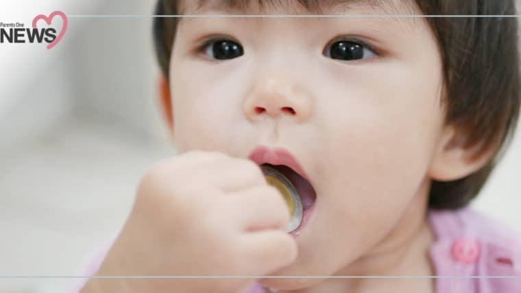 NEWS: อุทาหรณ์สำหรับพ่อแม่ เหรียญติดคอเด็ก 3 ขวบ หวิดหลอดอาหารทะลุ อุดทางเดินหายใจ