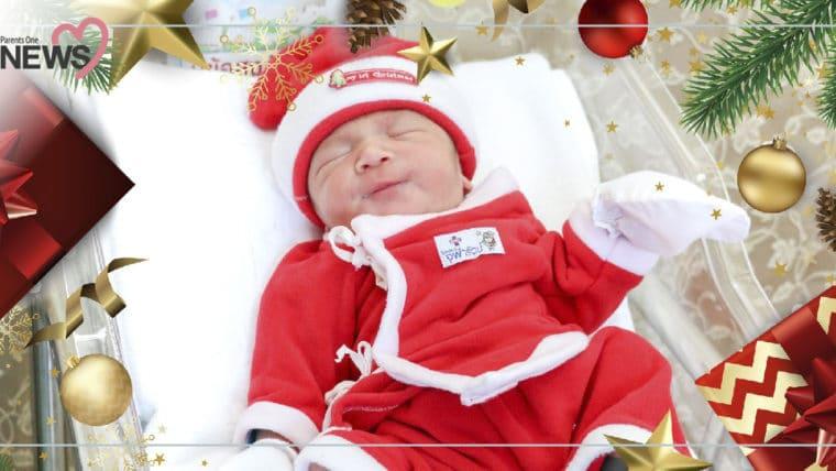 NEWS: น่ารักมากแม่!! เด็กแรกเกิดในชุดซานต้า ต้อนรับวันคริสมาสต์จากโรงพยาบาล