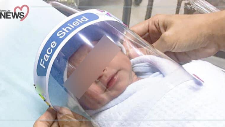 NEWS: ชมรมเวชศาสตร์ทารกเตือน อย่าใส่ Face Shield ให้ทารก เสี่ยงหายใจไม่สะดวก