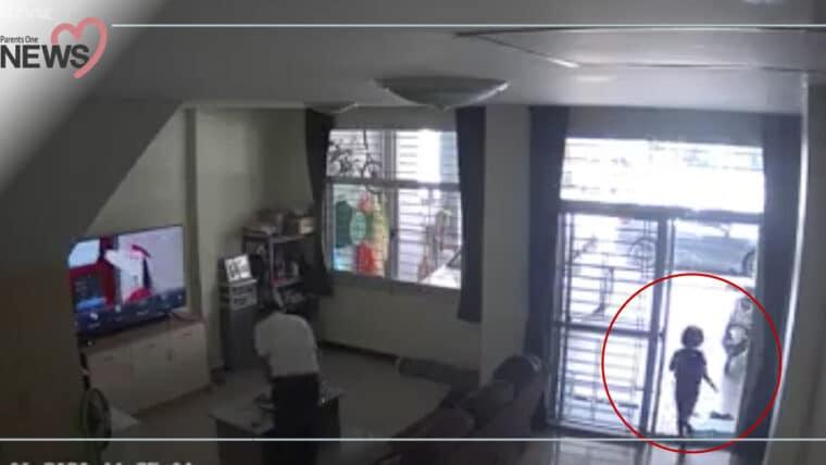 NEWS: อยู่บ้านก็ต้องระวัง เด็กวิ่งชนประตูกระจกแตก ต้องเย็บ 23 เข็ม