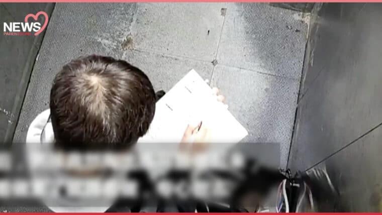 NEWS: นิ่งสงบสยบความเคลื่อนไหว เด็กจีนติดลิฟต์ จึงหยิบการบ้านมานั่งทำระหว่างรอ
