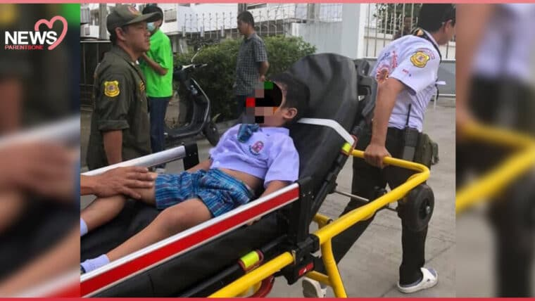 NEWS: #ม็อบ17พฤศจิกา เด็กอนุบาลโดนแก๊สน้ำตา ลูกหลงจากการฉีดน้ำของตำรวจ