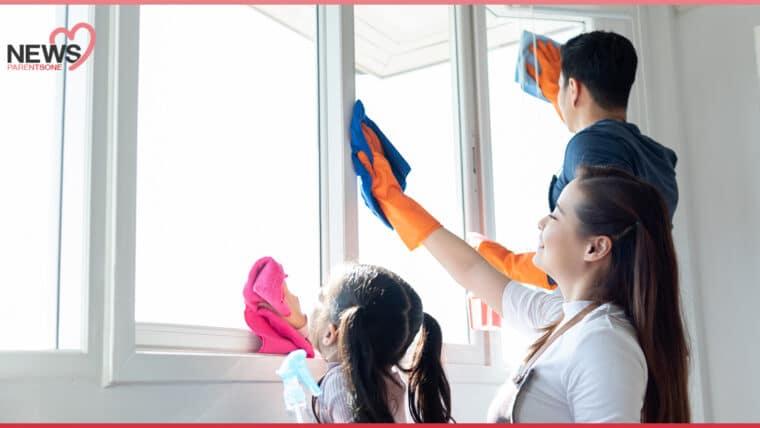 NEWS: ปิดเทอมอยู่บ้าน ชวนลูกมาทำความสะอาดบ้าน ป้องกันโรคระบบทางเดินหายใจ