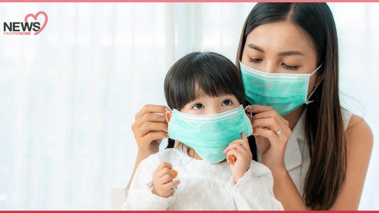 """NEWS : คุณหมอย้ำ!! ผู้ปกครองควรเลือกหน้ากากอนามัยให้เหมาะกับ """"เด็กเล็ก"""" ถึงจะป้องกันความเสี่ยงในการติดโควิด-19 ได้ดี"""
