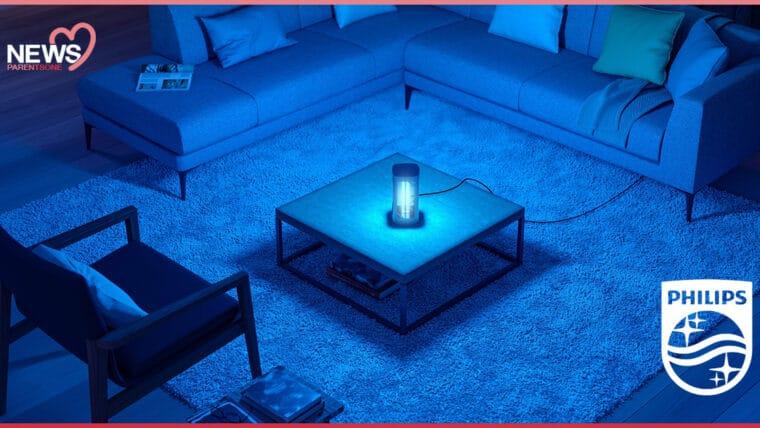 NEWS: ฟิลิปส์เปิดตัว โคมไฟ UV-C ยับยั้งโควิด ลดความเสี่ยงให้ลูกและคนในครอบครัว