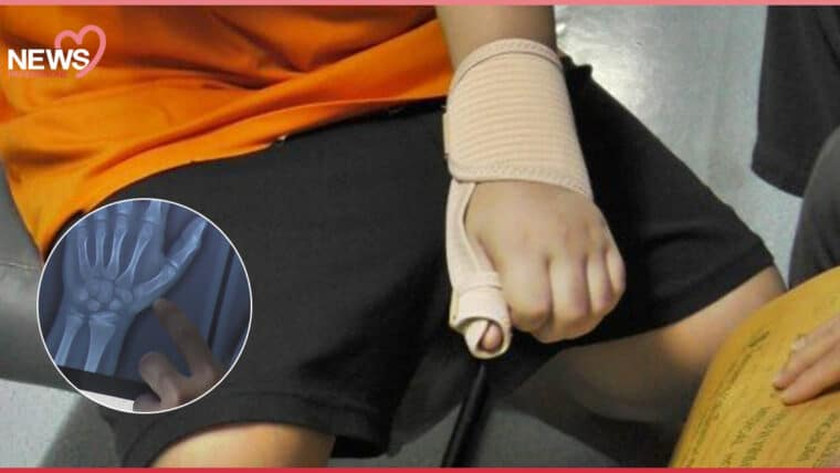 NEWS: ครูทำเกินกว่าเหตุ ลงโทษตีมือเด็ก จนพบรอยผิดปกติที่กระดูกมือ