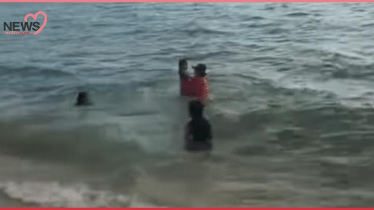 NEWS: หวิดเกือบไม่ทัน ไลฟ์การ์ดช่วยเด็กจมน้ำ ที่หาดจอมเทียนพัทยา